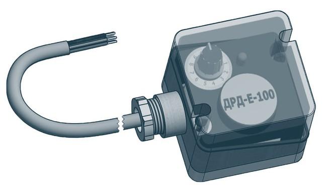 Датчики-реле давления серии ДРД электронного типа