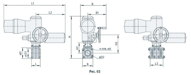 Кран шаровой МА 39010-06 Ду 200