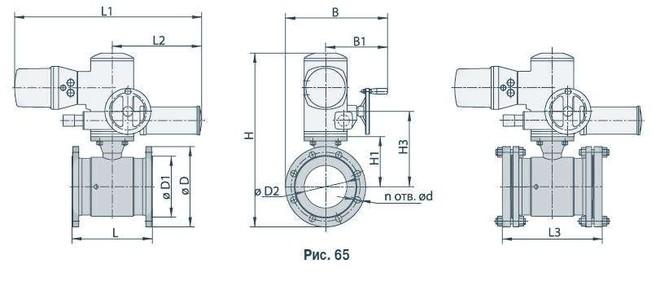 Кран шаровой МА 39010-06 Ду 150
