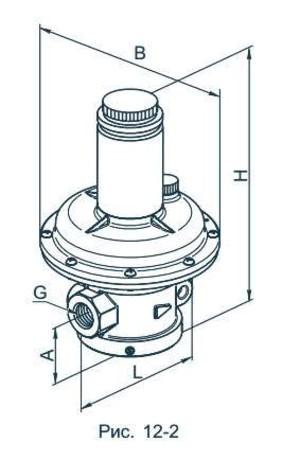 Предохранительно-сбросной клапан СК1 1/2-0,5