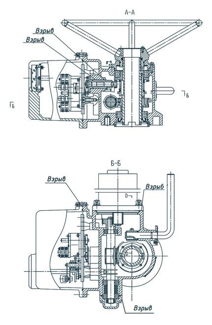 Электропривод ГЗ-ВД.5000 КСК