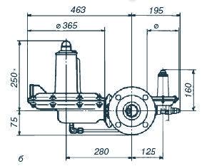 Регулятор давления газа серии A/140